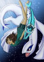 Pokemon: Dance in the Ocean by IceMaidenChiyoe