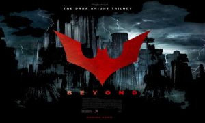 BATMAN BEYOND Movie poster for bus and subway by IGMAN51