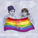 Fly your rainbow flags high by ErinPtah