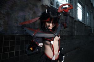 Ryuko Matoi - Ready to fight! by fenixfatalist