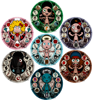 TBoI - Stained Glass by GhostBulb
