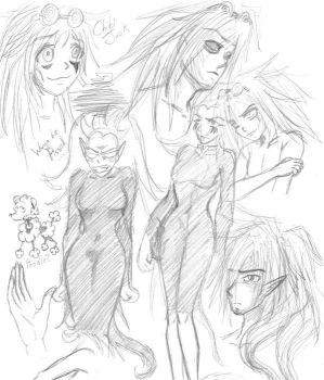 Xiaolin Doodles by Lord-Zing