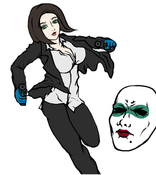 Payday 2 Clover by ilageater