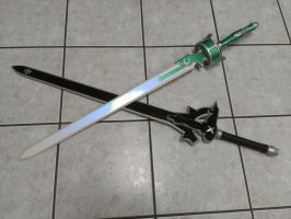 Elucidator and Lambent ready for photoshoot. by GS-PROPS