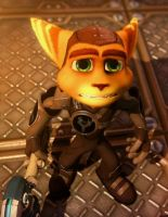 Ratchet and Clank Future A Crack in Time Ratchet by Ratchetfan2006