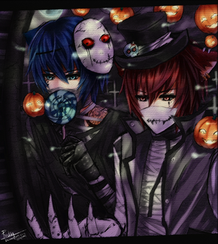 Trick or candy? by Pinlin