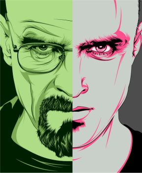 Breaking Bad by craniodsgn