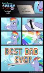 Dashie's Gift by MLP-Silver-Quill