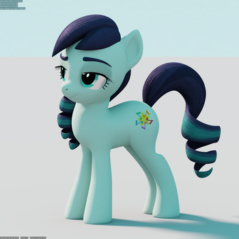 Coloratura Facial Rig and Pose Test Render by TheRealDJTHED
