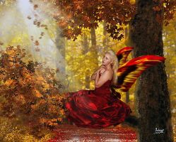Embracing the autumn by Julianez