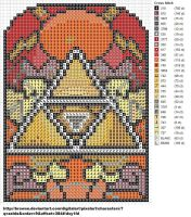 Triforce Stained Glass by carand88
