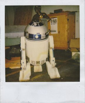 Polaroid Star Wars R2 D2 by KingScimia