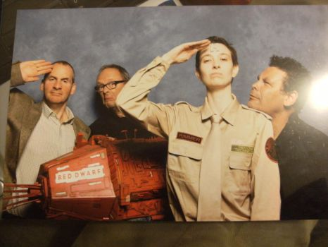 Arnold J Rimmer Cosplay - EMS Oct 2012 - Cast Shot by ruuwolf