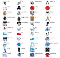radiohead icons XP by 0-4