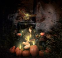 The Magic Of Halloween by Alena-48