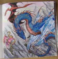 Dragons of Westeros by I-Love-My-Pencils
