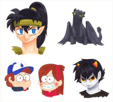 ToshoCon 2013 Drawing Commissions by alamedyang