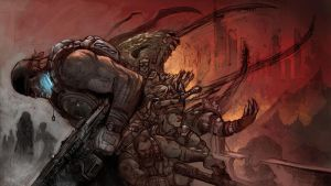 Gears of War contest by RayDillon