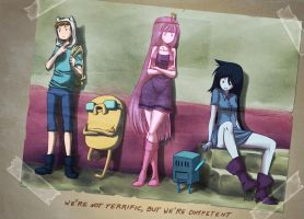 AT- We're not terrific but we're competent by mayukichan