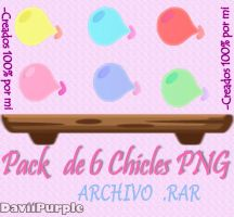 Pack de Chicles.PNG by Daviipurple