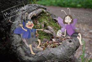 John and the fairy stump by BlackNinjaTwin
