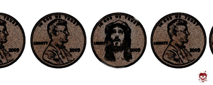 SSW: Jesus Penny by touchpad