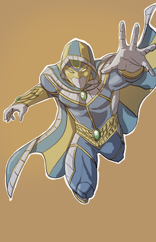 Hepinset, the Lost Pharaoh by spriteman1000
