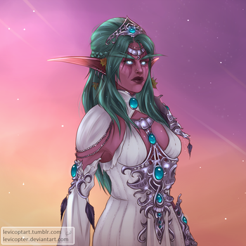 Tyrande by Levicopter