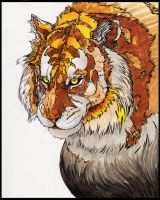 Golden Tiger by MobsterQueenPin