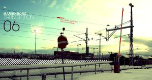 Trainstation by niggez
