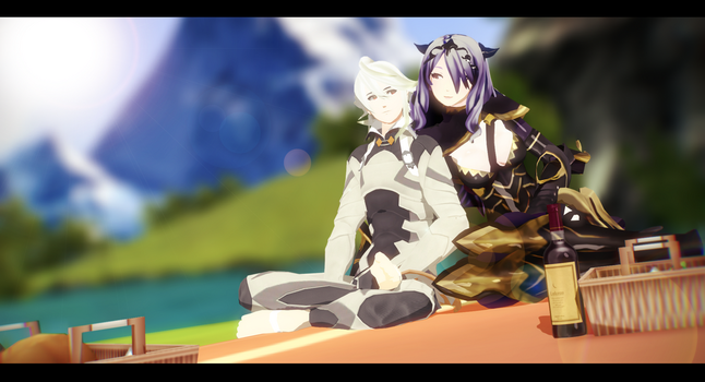 |MMD|FE:F|CorMilla| Secluded Date by UniTheNep