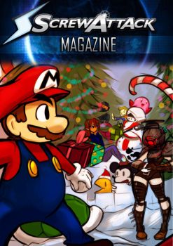ScrewAttack Magazine issue 4 by HybridRain