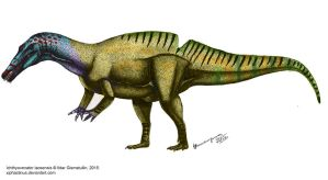 Ichthyovenator recolored by Xiphactinus