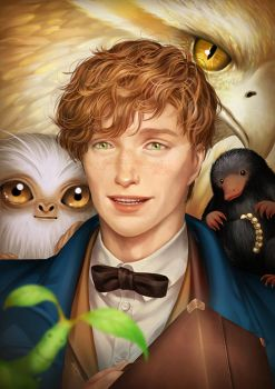 Fantastic Beasts and Where to Find Them  by TheKucing