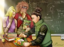 Lunchtime by RamaChan