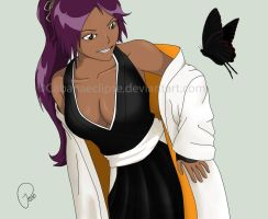 Yoruichi 2 - Color by cabanaeclipse