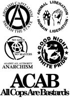 antifa patches by marcob