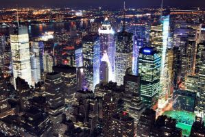 New York from Empire by dumantk