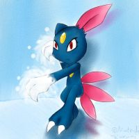 20 Fortitude-Sneasel Ice Punch by RuiNami