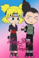 Happy Bday Temari-san by Krishtal