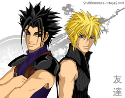 Tomodachi - Zack and Cloud by ClimaxTogether
