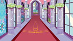 Canterlot Hallway by Soren-the-Owl