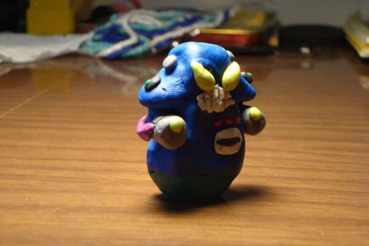 Plasticine Keen - Robo Blue by ChangedDaily