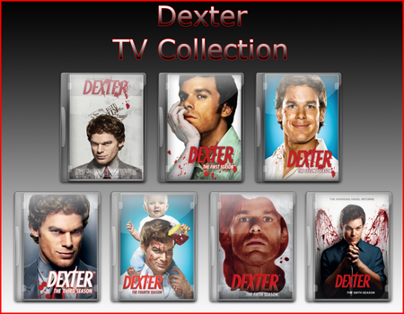 Dexter TV Collection Icons by jake2456