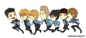Block B - Run To You by BakaKira