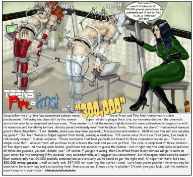 300,000 Pageviews By Augustineart by TheBadLieutenant