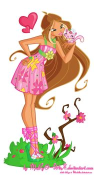 Flora and Coco by MaRgO-WinX