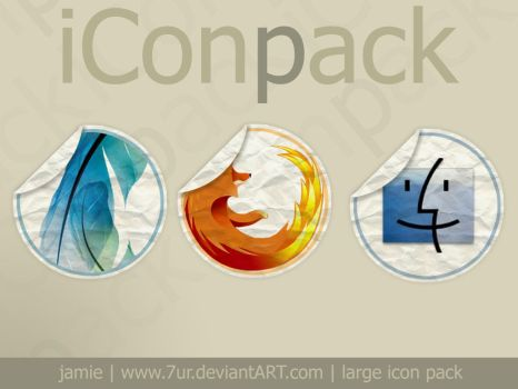 iConPack - now with psd by 7UR