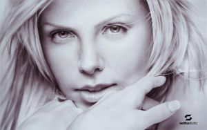 Charlize on paper by setkastudio