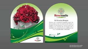 Rose Smile flyer by solo-designer
